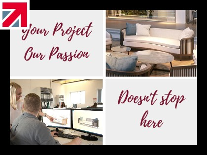 Your Project, Our Passion - Doesn't stop here! We bring our design team to your home.