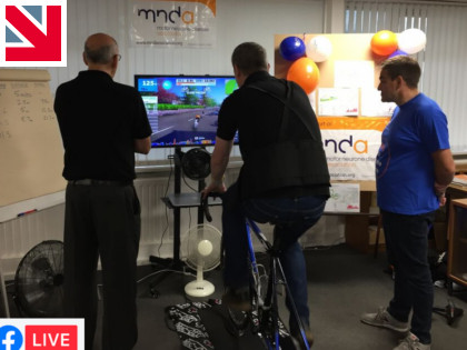 Watch Made in Britain member raising funds for MND live...
