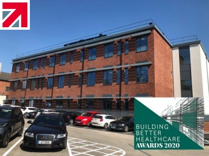 Catfoss Nominated for 'Best Healthcare Development over £10m' at Building Better Healthcare Awards