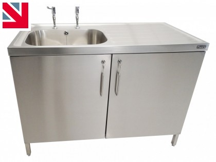 NEW NOVA STAINLESS STEEL CABINETS